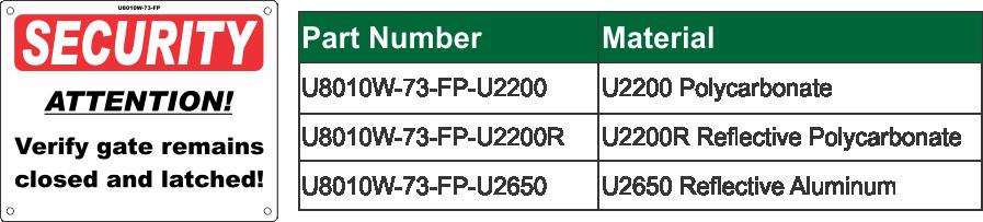 U8010W-73-FP