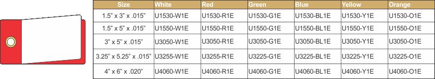U1530-1E CHART ORANGE