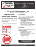 cutsheet - OSHA Lock out tags