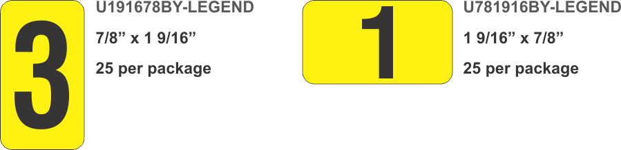 black on yellow - substation